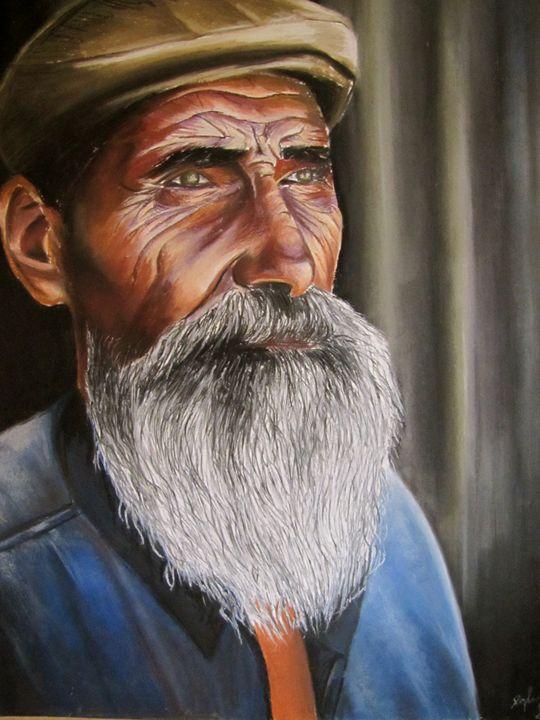 Old Man - Daphna's Gallery