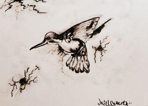 Hummingbird - URIELUKG ARTS/CALIGRAPHY
