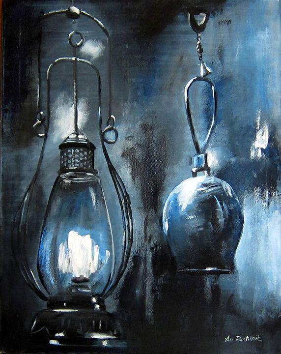 Miner Lamp - Pangol Art