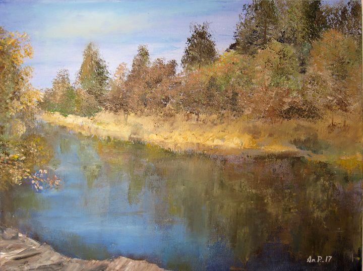 Mountain lake - Pangol Art