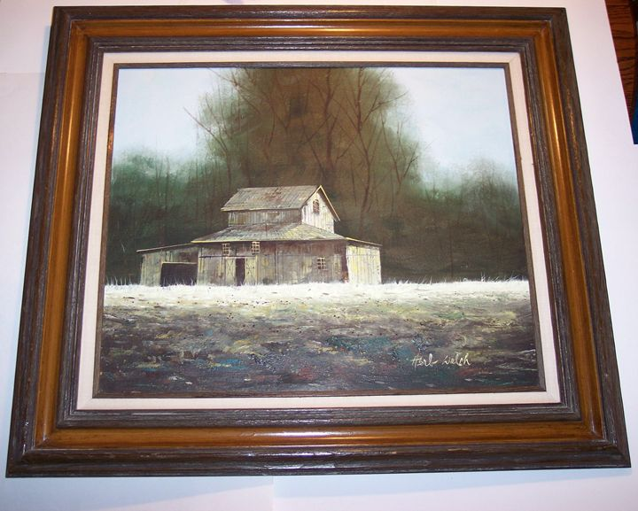 A Country Building - Art Kountry