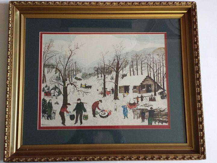 Winter in Vermont - Art Kountry