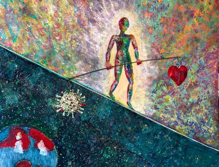The delicate balance - BodySong Art