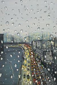 Rainy day - city