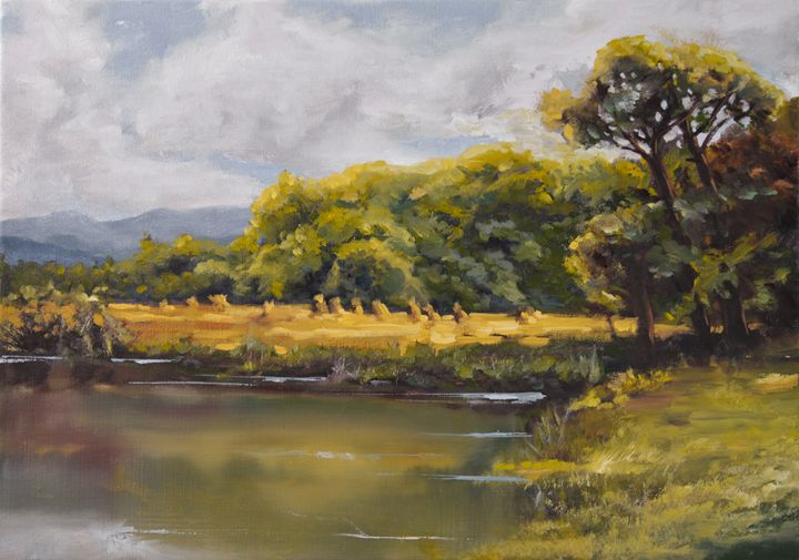 Golden Autumn - Kamil Wdowicz Art