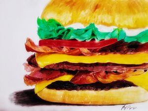 Double Bacon with Cheese