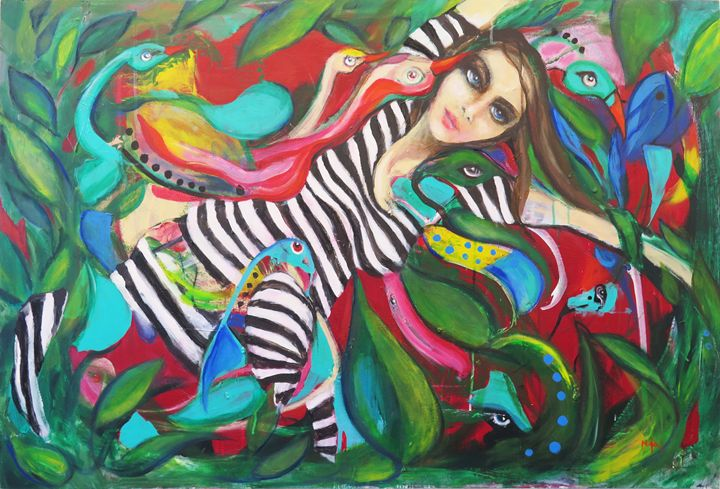 Zebra - Nina N Art