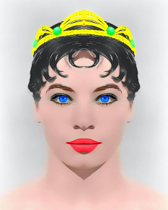 Leslie Caron alias_The Glass Slipper - Art Cinema Gallery