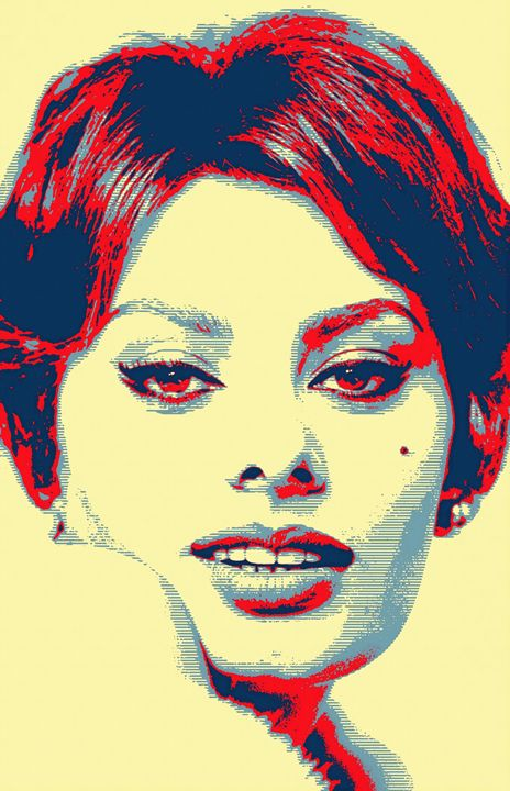 Sophia Loren - Art Cinema Gallery