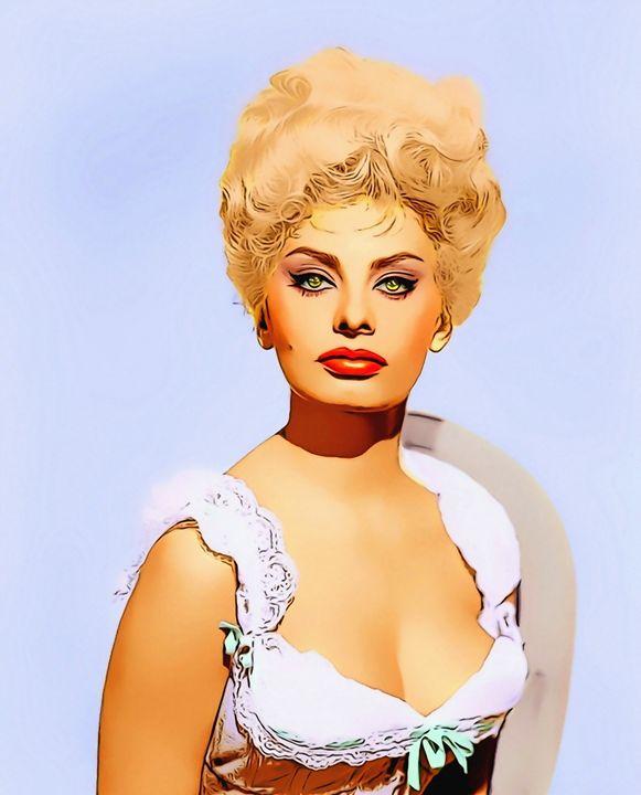 Sophia Loren_Heller in Pink Tights - Art Cinema Gallery