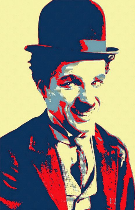 Charles Chaplin Charlot - Art Cinema Gallery