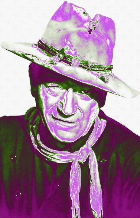 J.Wayne_Man Who Shot Liberty Valance - Art Cinema Gallery
