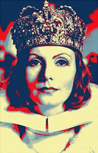 Greta Garbo in Queen Christina - Art Cinema Gallery
