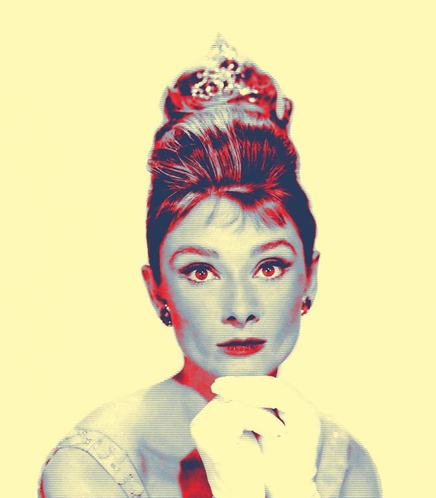 Audrey Hepburn_Breakfast at Tiffanys - Art Cinema Gallery