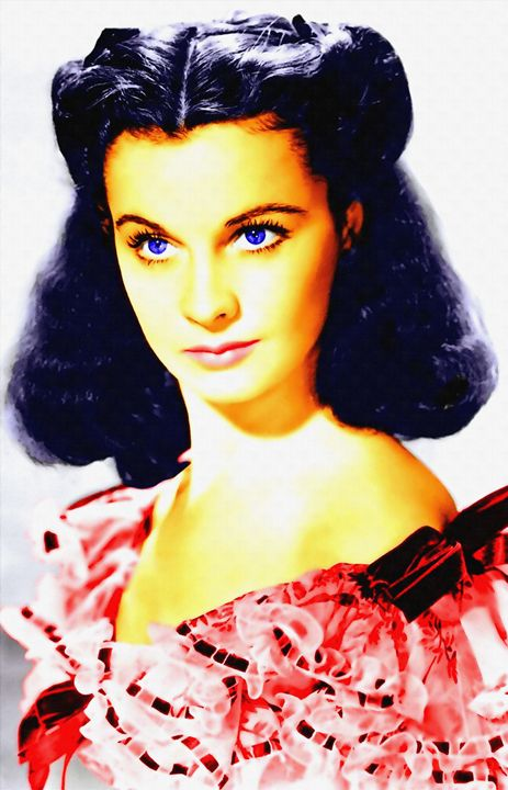 Vivien Leigh in Gone with the Wind - Art Cinema Gallery