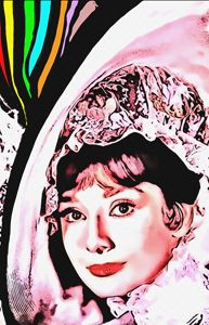 Audrey Hepburn in My Fair Lady - Art Cinema Gallery