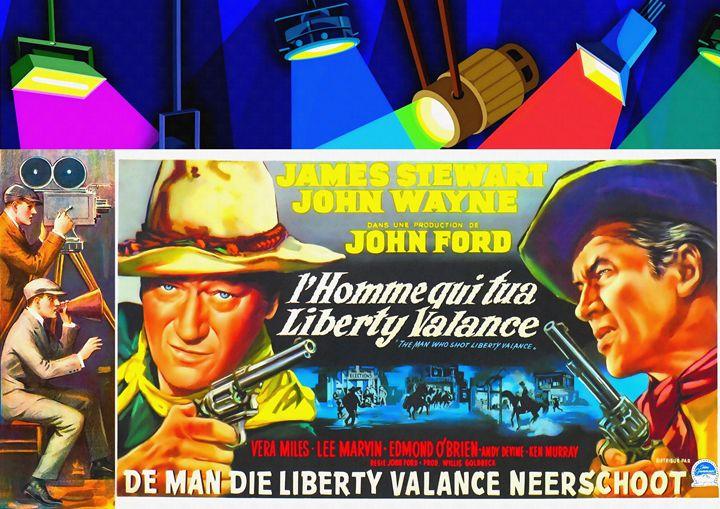 The Man Who Shot Liberty Valance - Art Cinema Gallery