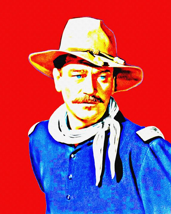 John Wayne in Rio Grande - Art Cinema Gallery