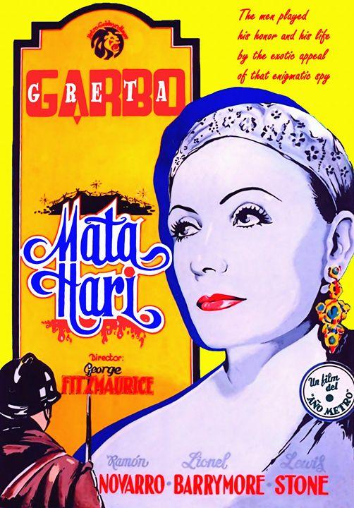 Poster of Mata Hari - Art Cinema Gallery