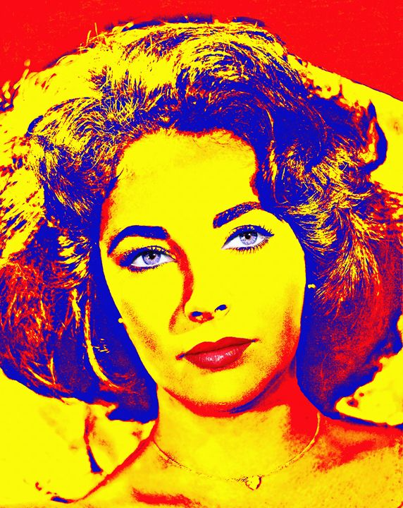 Elizabeth Taylor - Art Cinema Gallery