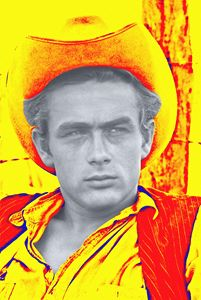James Dean in Giant - Art Cinema Gallery