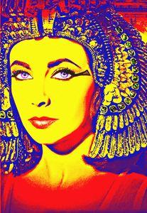 Elizabeth Taylor in Cleopatra - Art Cinema Gallery