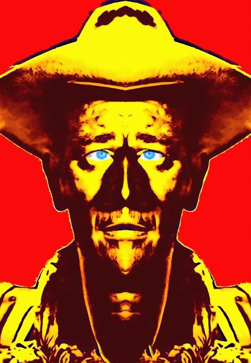 John Wayne, alias in Fort Apache - Art Cinema Gallery