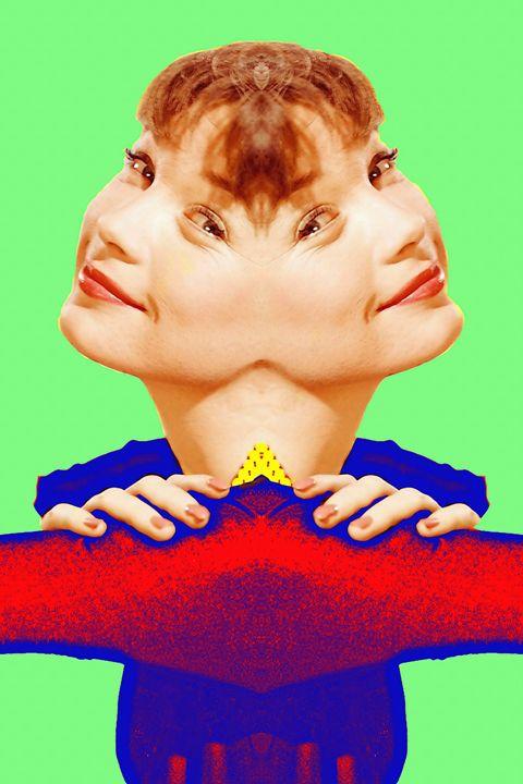 Shirley MacLaine, double - Art Cinema Gallery