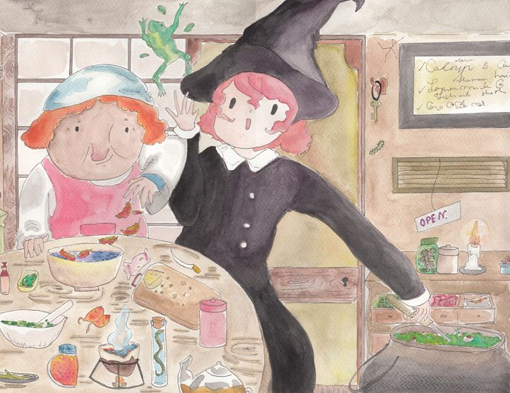 Witch cooking - Tanpopo story