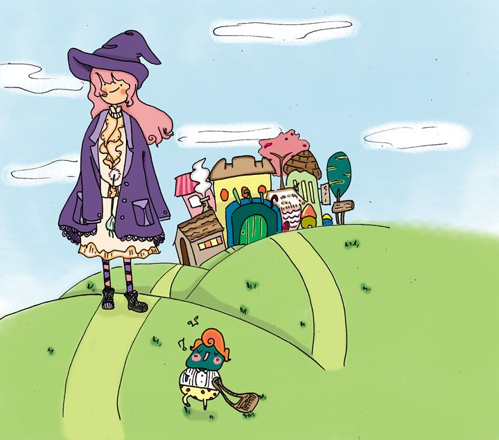 Witch traveling - Tanpopo story
