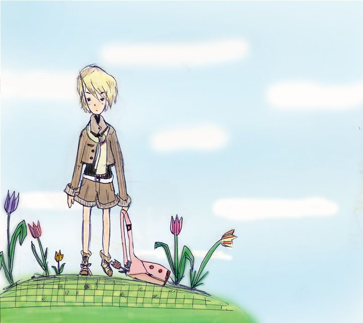 A tulip field - Tanpopo story