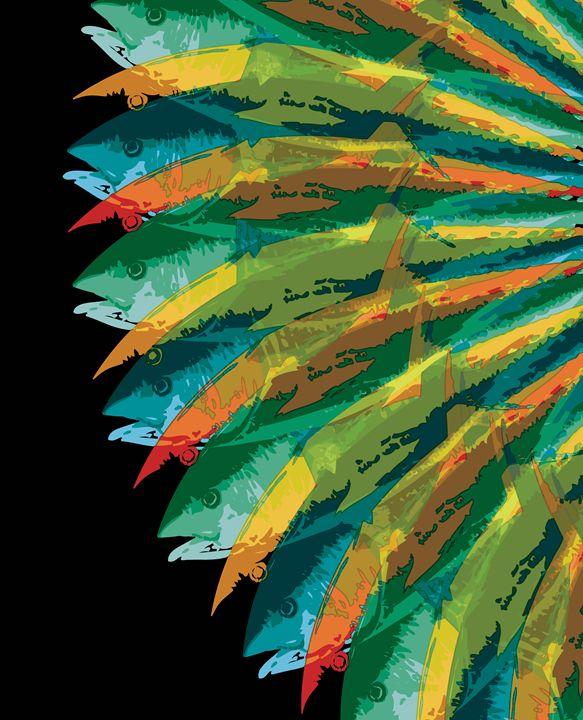 Fish Vortex, Radiant Tall - Air California