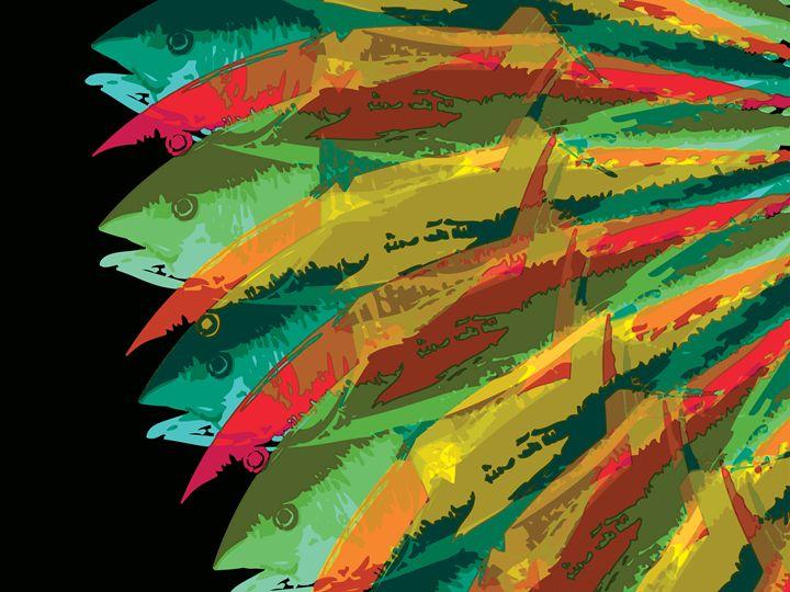 Fish Vortex, Ultra Short - Air California
