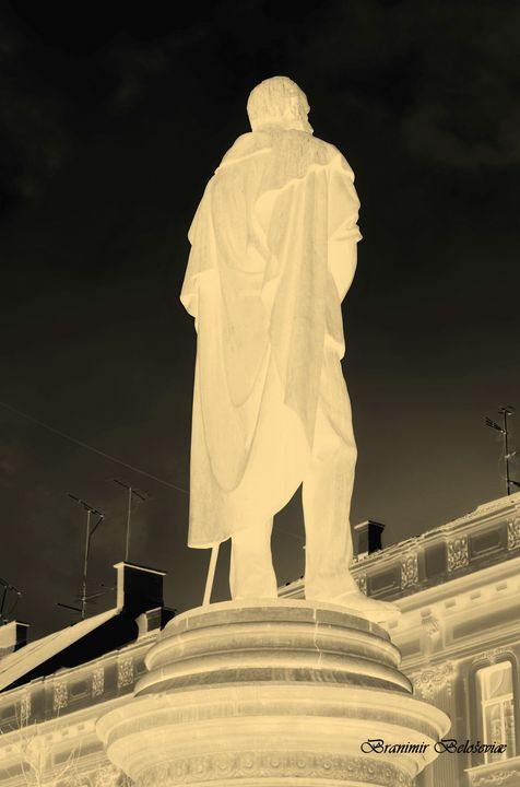 Statue of man - branimirbelosev