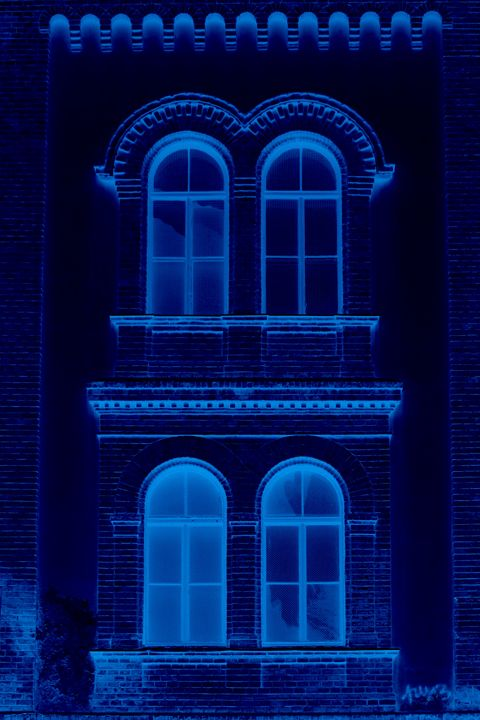 Blue negative popart - branimirbelosev