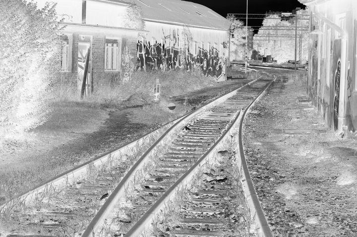 Ghost train track - branimirbelosev