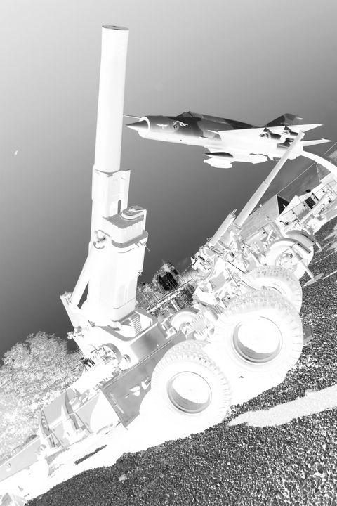 Big gun and plane - branimirbelosev