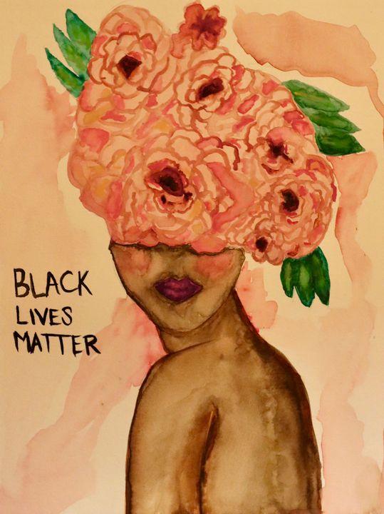 Black Lives Matter - Anneliese OBR