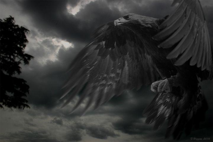 Brooding Giant Eagle - LTH GRAPHICS