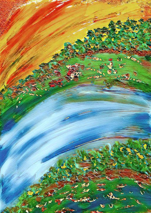 Curve of Nature - Kim Tollefson