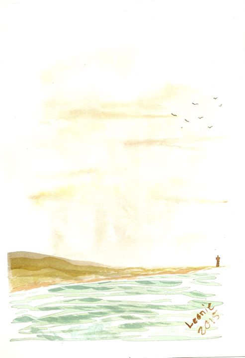 Lighthouse - Leonie Overbeek - Art and Words