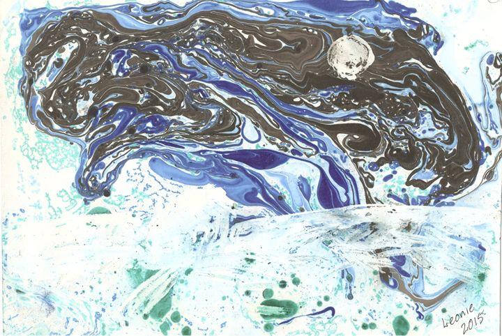 Dark Moon - Leonie Overbeek - Art and Words