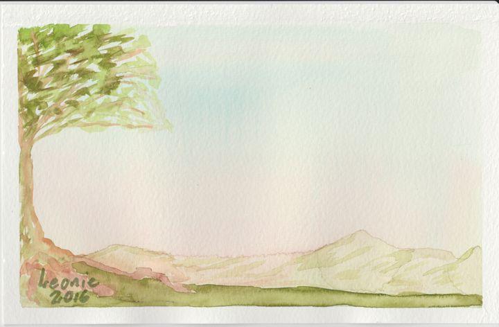 Misty Hills - Leonie Overbeek - Art and Words