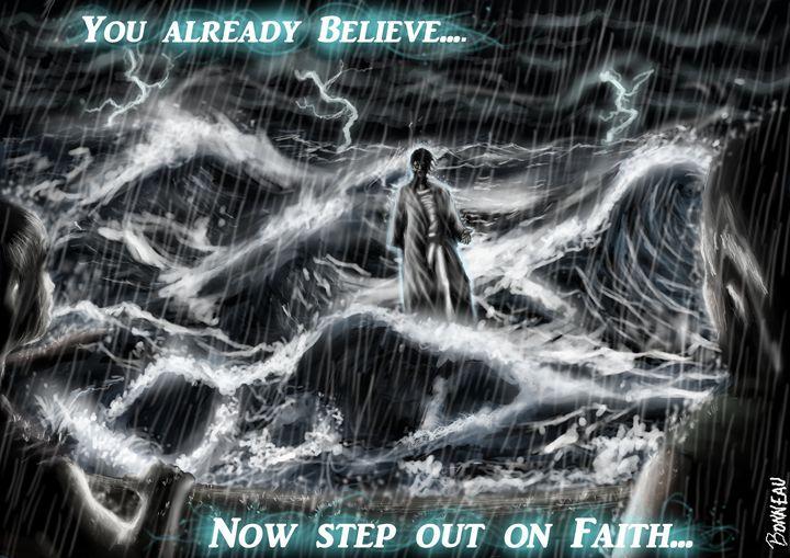 Jesus Walks on Water - Ahayah Purpose