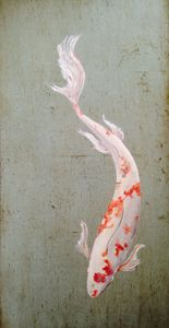 Study of Magestic Koi
