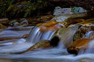 Beautiful Flowing Stream
