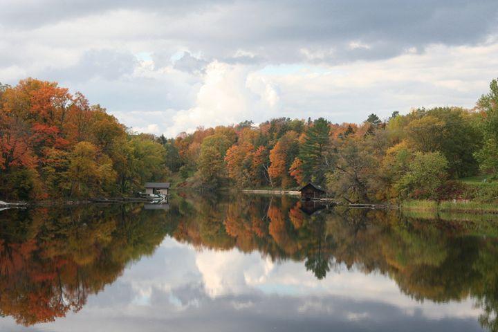 Huntsville, ON- view from bridge - Carolyn reinhart