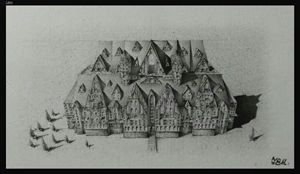Micro Mountain Mansion - TBH Writing Pencil