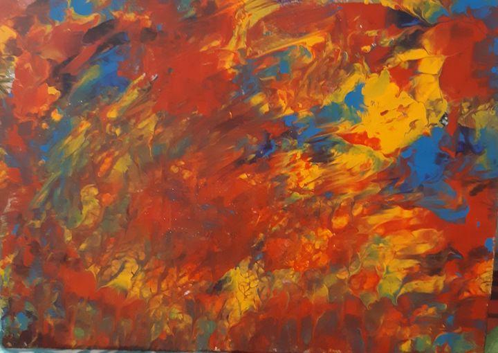 California Fire - A Splash of Paint