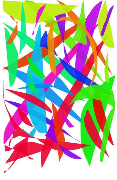 Green - A Splash of Paint